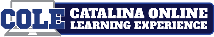 Catalina Online Learning Experience Logo